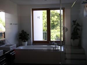 Koupelna – rodinný dům Praha