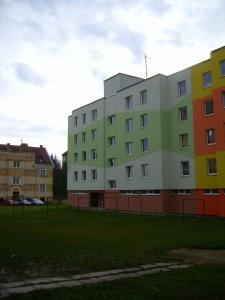 Panelový dům České Velenice